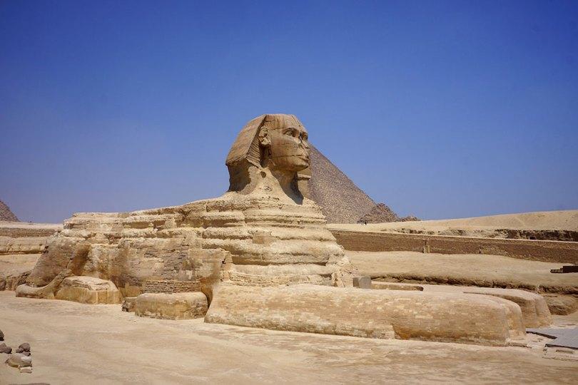 Égypte antique - Sphinx de Gizeh