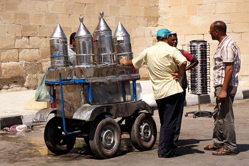 Alexandrie - Vendeur ambulant