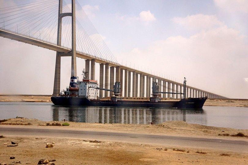 Canal de Suez - pont d'El Qantara