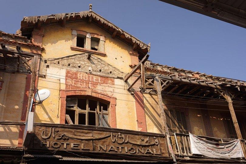 Port-Saïd - Hotel national