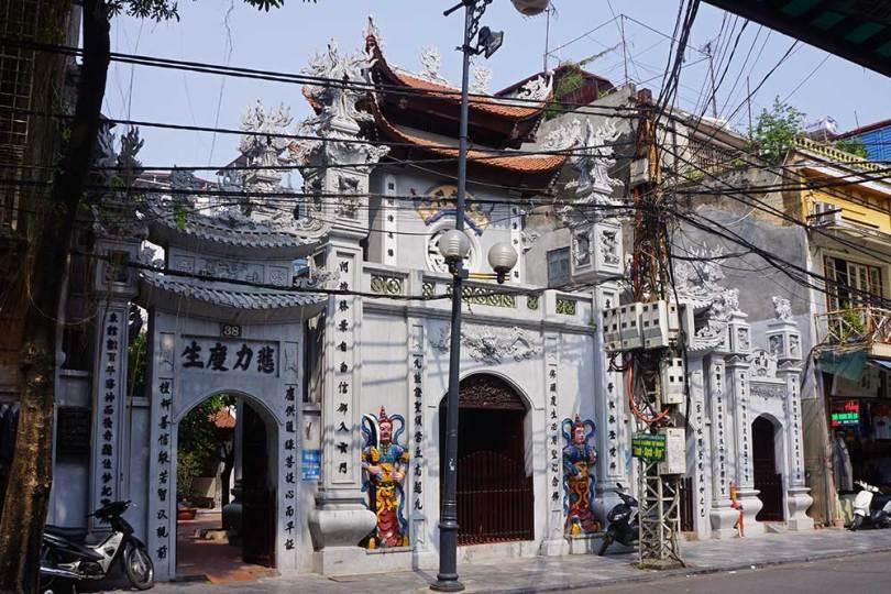 Hanoï - Temple bouddhiste de Cau Dong