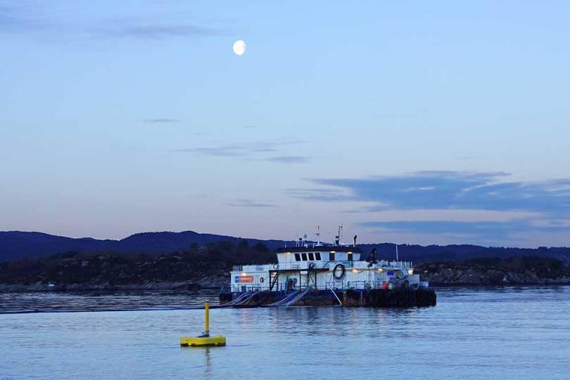 Norvège - Ferme aquacole