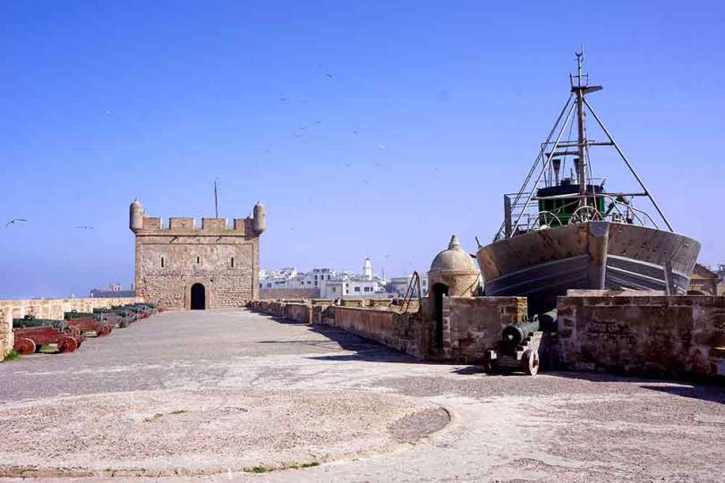 Essaouira - la Sqala du Port