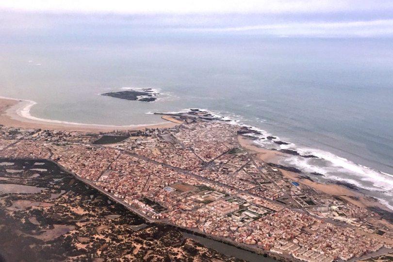 Essaouira - Vue aérienne