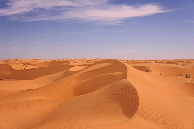 Adrar - Dunes de l'erg Ouarane