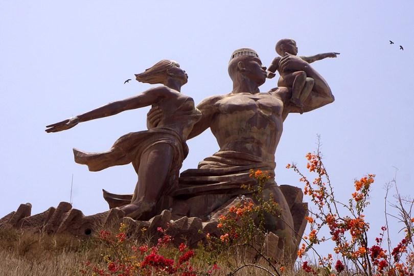 Dakar - Monument de la Renaissance Africaine