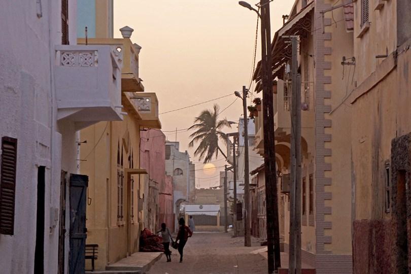 Saint-Louis du Sénégal - Fin de journée