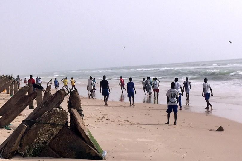 Saint-Louis du Sénégal - Guet N'dar : plage