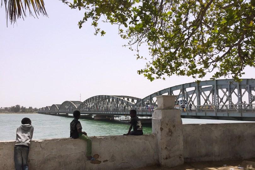Saint-Louis du Sénégal - Pont Faidherbe