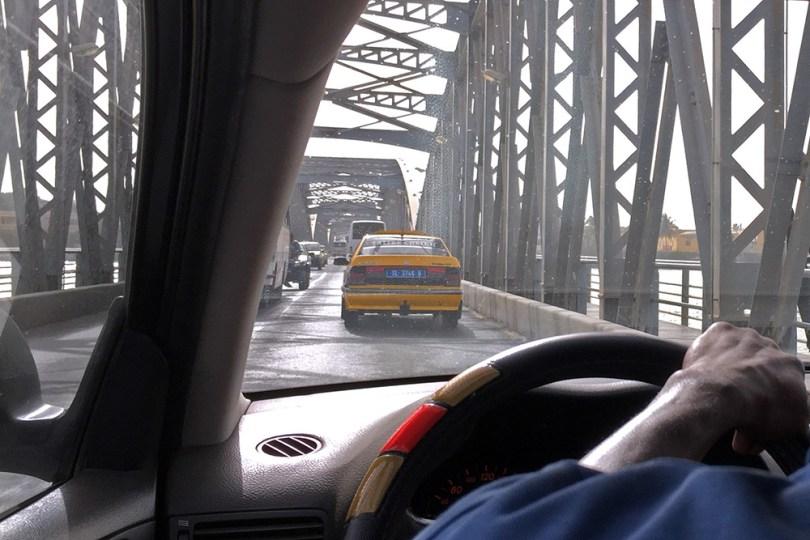 Saint-Louis du Sénégal - Pont Faidherbe : Taxi