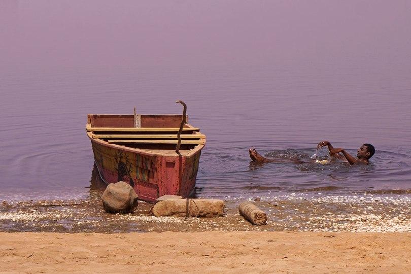 Sénégal - Retba, Lac Rose