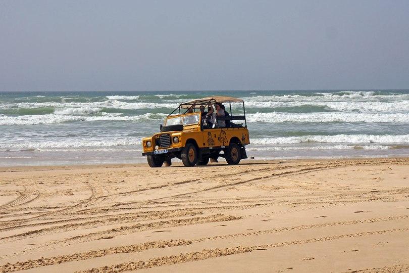 Sénégal - Retba : 4x4 Paris Dakar