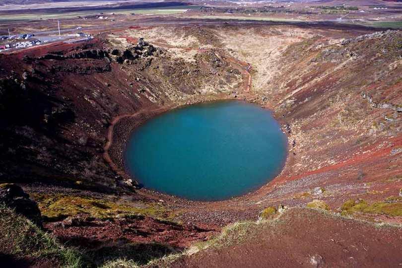 Islande - Cratère Kerið