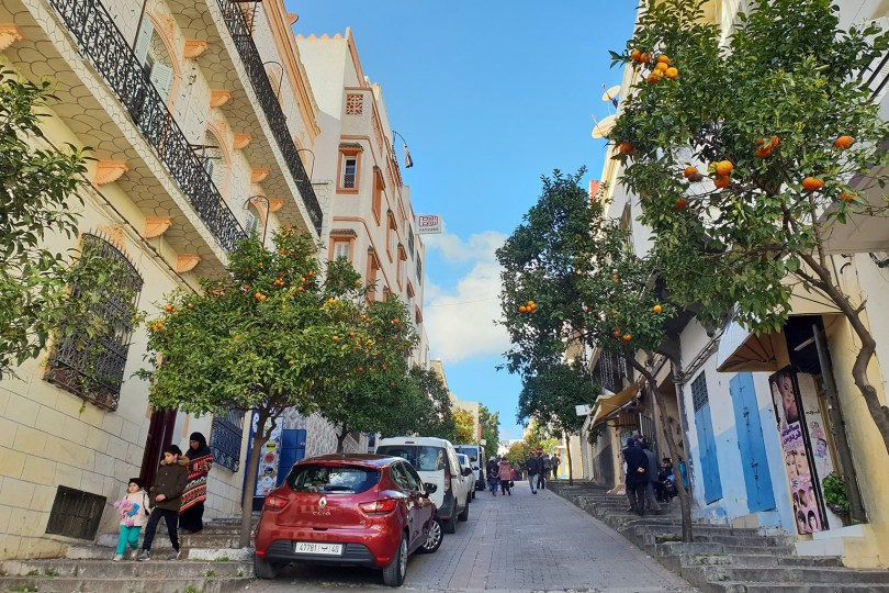 Tanger - Rue De La Kasbah