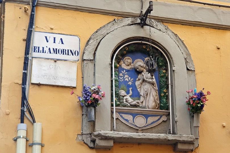 Florence : Via Dell'Amorino