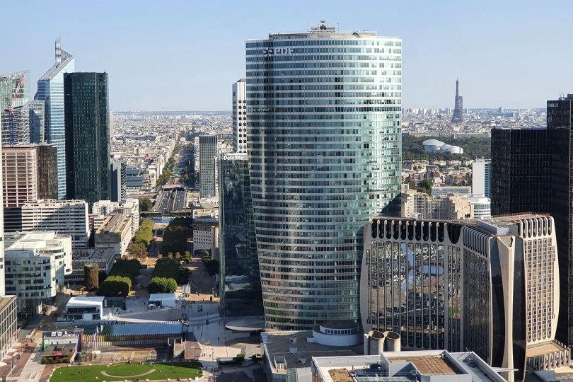 Paris vu d'en haut - Grande Arche de la Défense