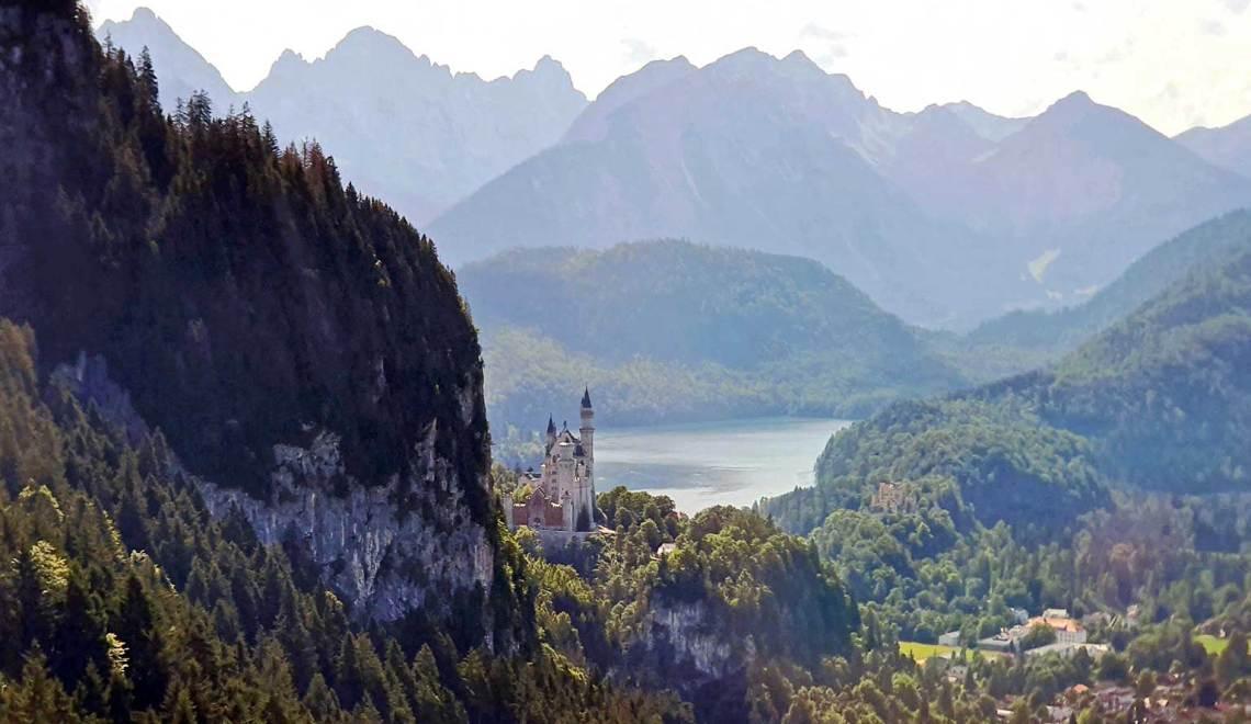 Les châteaux perchés de Louis II de Bavière