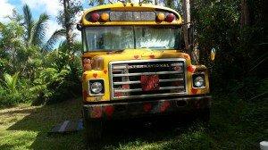Aloha Bus Heart Front!