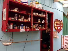 eco hostel community sharing shelf
