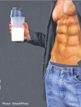 Protein Shake dont give you lean muscle gain.