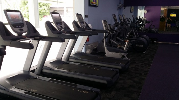 anytime fitness west coast cardio area