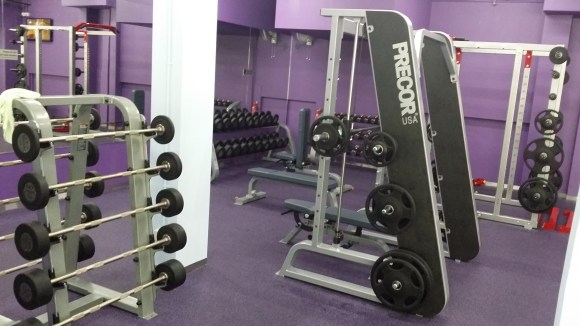 anytime fitness singapore west coast weights area