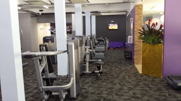 anytime fitness singapore west coast weights machine