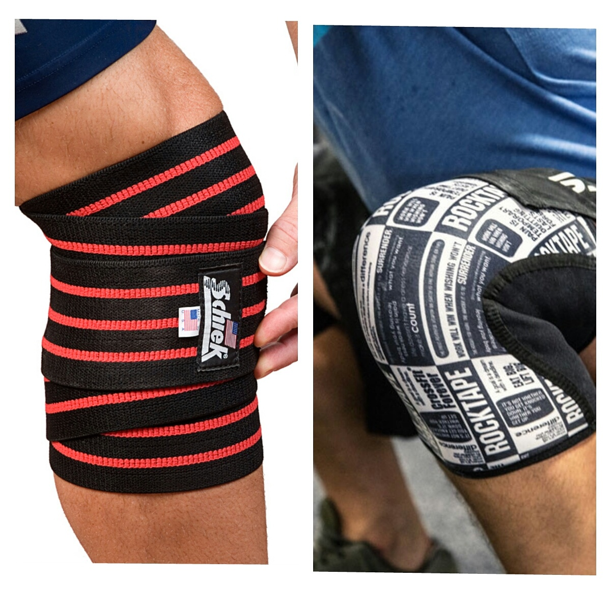 Should you use a Knee Wrap or a Knee Sleeves?