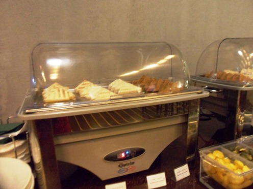 International Business Lounge Moscow Sandwiches