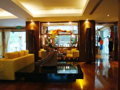 Spa Botanica lobby