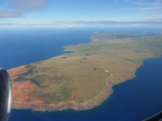 North End of Easter Island