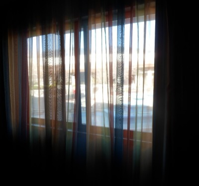Colorado Springs Doubletree Rainbow Curtains