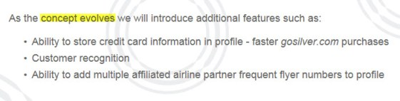Silver Airways Silver Circle features to come