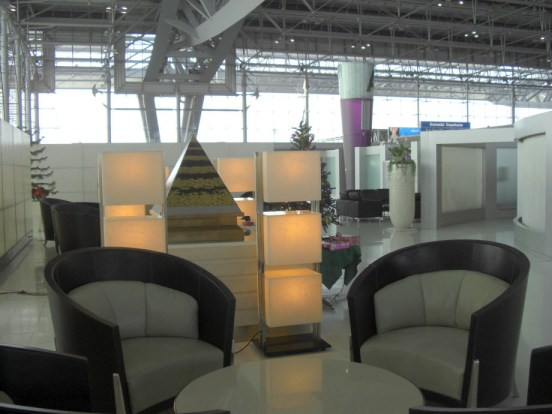 Thai Airways First Class Check In Area Bangkok