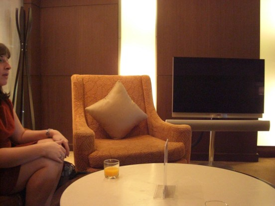 Thai Airways Bangkok First Class Lounge Private Room