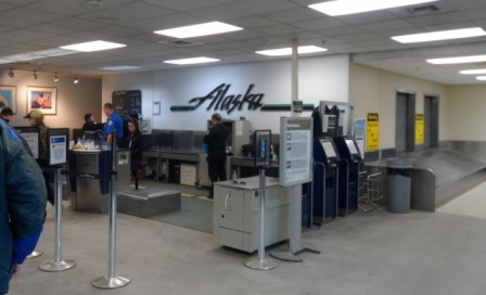 Alaska Airlines AIrport Will Rogers Barrow Alaska