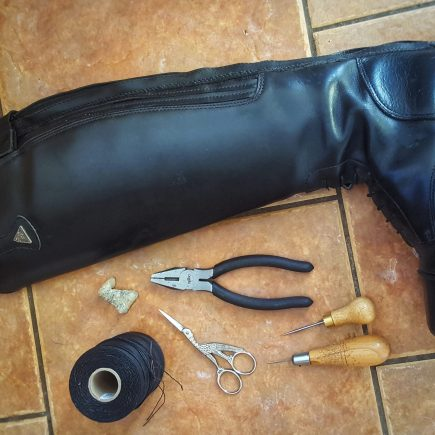 Riding Boot zip Repairs