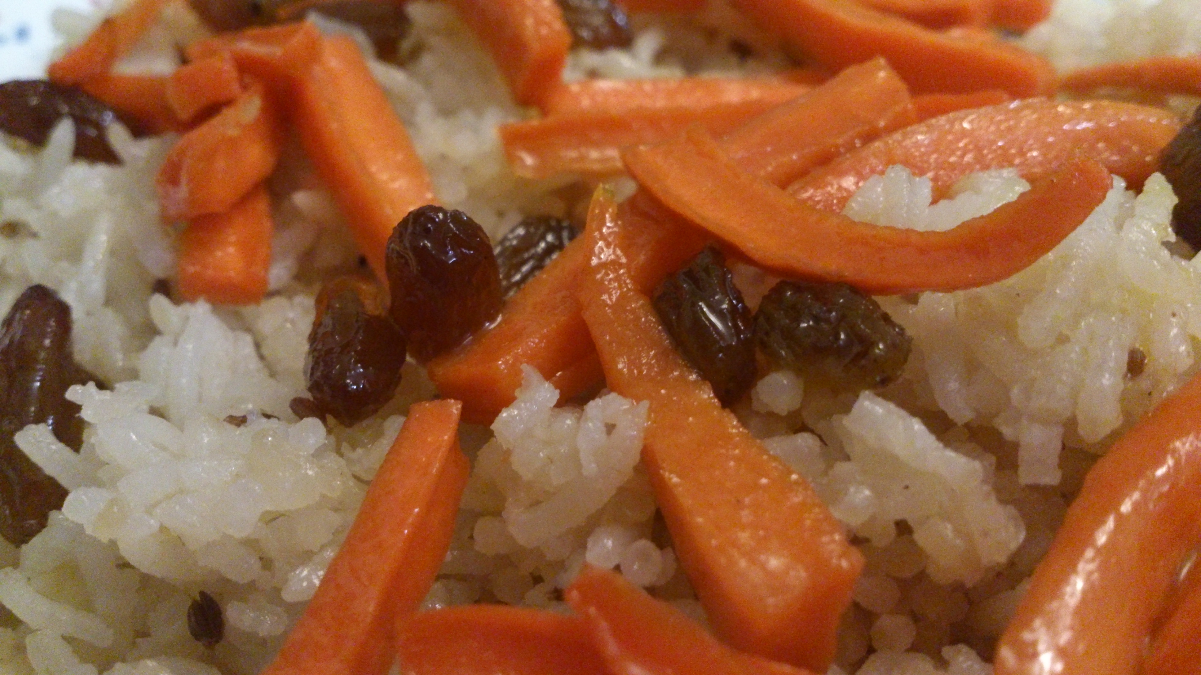 Around The World In 80 Posts : First stop : Afghani Rice