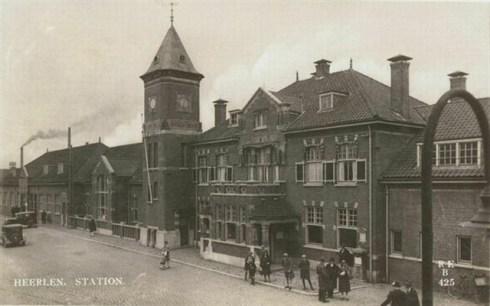 Bron: Het Utrechts Archief, catalogusnummer 161164 | Station Heerlen 1926