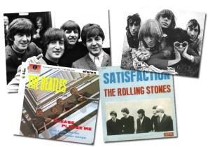 Opkomst van Rolling Stones en The Beatles