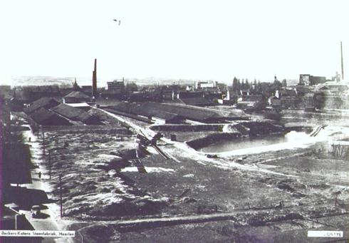 Bron: Rijckheyt.nl | Meezenbroekerweg. De steenfabriek van Beckers-Koten.