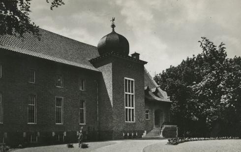 Bron: Rijckheyt.nl | Akerstraat. Hoofdkantoor van het Algemeen Mijnwerkersfonds.