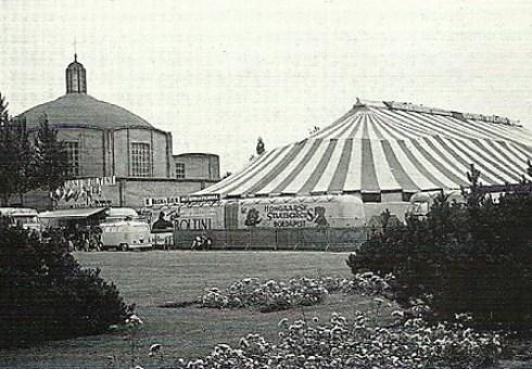 Bron: Privé collectie John Bovendeert | Circus Toni Boltini met het Hongaars Staarscircus op 8 en 9 juli 1967