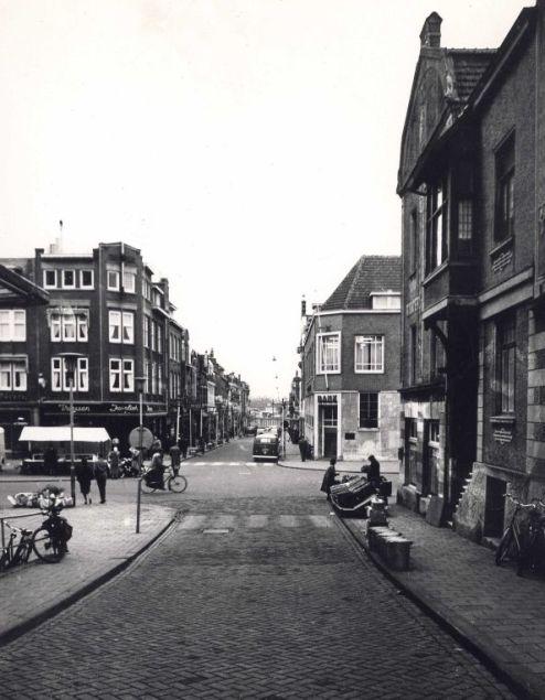 Bron: Rijckheyt.nl | Oranje Nassaustraat (18-11-1958). In het midden de Bongerd.