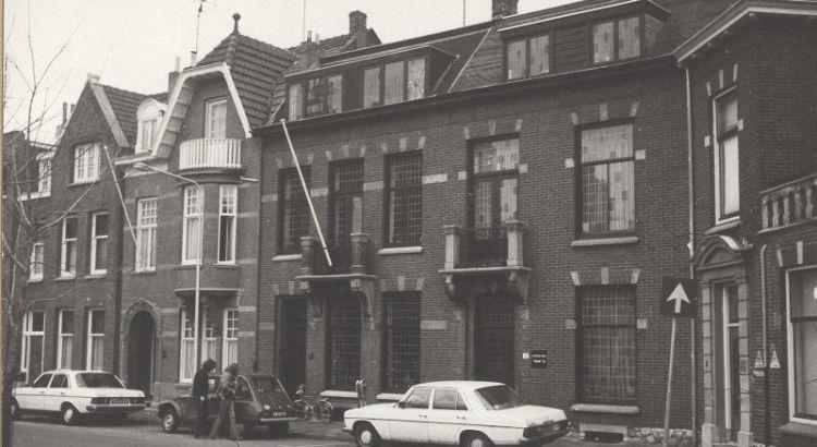 Bron: Rijckheyt.nl | Burgemeester de Hesselleplein (februari 1979). Huisnummer 6, 7 en 8.