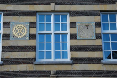 Bron: Wiel Vogt | Detail gevel Ambachtsschool Heerlen
