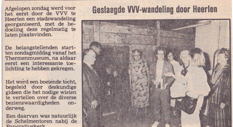 Bron: Uitkijk | Peter Crombach in item over VVV-wandeling