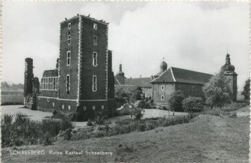 Bron: Rijckheyt.nl |  Ruïne kasteel Schaesberg.