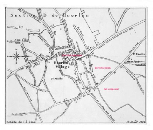 Kaart uit 1822