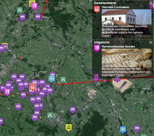 Bron: Vici.org | Romeins verleden in de buurt van Heerlen